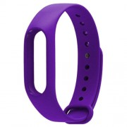 For Xiaomi Mi Band 2 (CA0600B) Colorful Replacement Wristbands Bracelet Host not Included(Purple)
