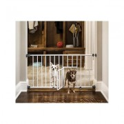 Carlson Pet Products Mini Gate with Pet Door
