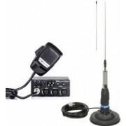 Kit Statie Radio CB Midland M Zero Plus + Antena Midland ML145 cu Magnet
