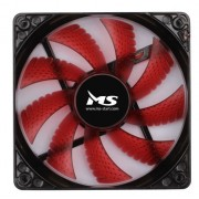Hladnjak za kuciste MS Red LED 120x120mm
