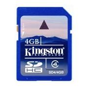 Карта памет Kingston SD Card 4 GB