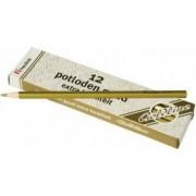 Set 12 creioane hexagonale Goldline Auriu metalic - Heutink