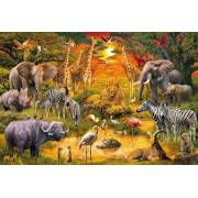 Puzzle Schmidt - Animale in Africa, 150 piese (56195)