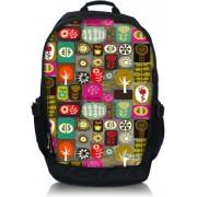 Laptop rugzak 17.3 inch kleurrijke symbolen - Sleevy