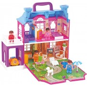 My Little Dream Villa Doll House, Multi Color by The Viyu Box