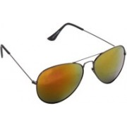 Just Colours Aviator Sunglasses(Yellow)