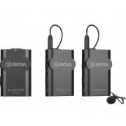 Sistem wireless Boya BY-WM4 PRO-K2 cu 2xMicrofon lavaliera Transmitator si 2xReceiver