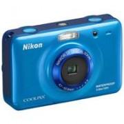 Nikon Digitalni Fotoaparat CoolPix S30 Plavi 16798