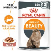 24 x 85g Intense Beauty Royal Caninen salsa comida húmeda para gatos