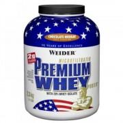 PREMIUM WHEY WEIDER Premium Whey syrovátkový protein Fresh Banán 2300 g