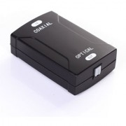 Tech Gear Coax Coaxial RCA to Optical TOSlink SPDIF Digital Audio Single Converter Adapter
