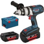 Bosch Professional GSB 36 VE-2-LI Akkus ütvefúró-csavarozó 2 Akkuval 2 Ah 89Nm + L-BOXX