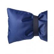 shamjina Cubierta de grifo impermeable al aire libre Cubierta de grifo de agua exterior Calcetín de grifo 7 colores Azul oscuro