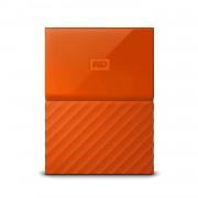 Western Digital MyPassport HDD 2TB USB 3.0 - преносим външен хард диск с USB 3.0 (оранжев)