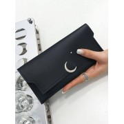 Rosegal Portefeuille Long Motif Lune et Etoile