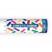 Geen Confetti kanon kleuren mix 20 cm