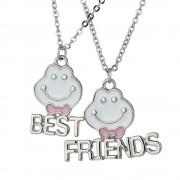 Set 2 Lantisoare Cu Pandantive Best Friends BFF Smile