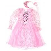 Костюм Принцесса 75 см, розовый, ободок, палочка.