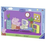 Puzzle Purcelusa Peppa, 15 Piese Ravensburger