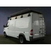 Attache remorque MERCEDES Sprinter (tôlée - roues jum. - emp. 402) - GDW-BOI...