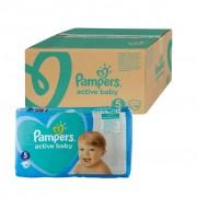 Pampers Active Baby vel. 5 dětské pleny Monthly Box 150 ks