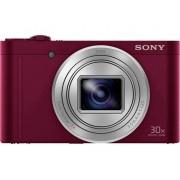 Sony DSC-WX500 Digitalkamera 18.2 Megapixel Zoom (optisk): 30 x Röd inkl. Batteri Vrid-/svängbar display, Full HD Video, Live-View, WiFi