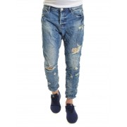 Gianni Lupo San Siro Distressed Jeans 36