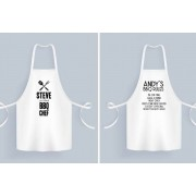 Gallery SI Limited t/a Colour House £9.95 instead of £39.99 for a personalised apron from Gallery SI Limited t/a Colour House - save 75%