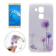 For Huawei nova plus & Maimang 5 Dandelion Pattern Transparent Soft TPU Protective Back Cover Case