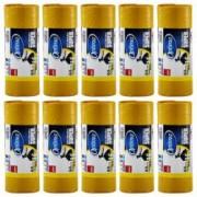 Pachet 10 bucati - Sano Saci menajeri galbeni 60L pentru pubela Sac plastic pentru menaj gunoi frunze deseuri 60x80cm 10