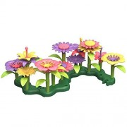 Green Toys Build a Bouquet Flower Set - Creative Toy Set by Green Toys