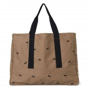 Horse Embroidery Weekend Bag Ferm Living