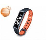 Beurer AS 80 C aktivitás érzékelő Bluetooth-al 3 év garanciával fekete-narancssárga