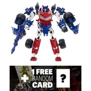 Smokescreen: Transformers Construct Bots Elite Class Buildable Action Figure + 1 Free Official Transformers Trading Card Bundle