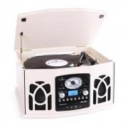 Auna NR-620 Cadena estéreo tocadiscos grabación MP3 beige (MG-NR-620-CR)