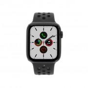 Apple Watch Series 5 Nike+ Aluminiumgehäuse grau 44mm mit Sportarmband schwarz (GPS + Cellular) grau refurbished