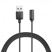 Soporte magnetico cable de carga para ASUS ZenWatch 2 - Negro (100cm)