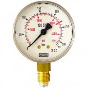 Manometru înaltă presiune CO2/Ar G1/4'' Ø63 Scală:0-315bar