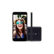 Smartphone LG K11 Alpha Preto 16GB Câmera 8MP 4G LMX410BTW