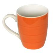 Cana ceramica, 390ml, orange, Keramik, 0121108,