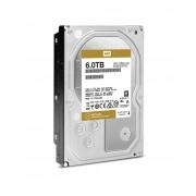 WESTERN DIGITAL GOLD 6TB ENTERPRISE CLASS HARD DISK DRIVE - 7200 RPM CLASS SATA 6 Gb/s 128MB CACHE 3.5 INCH - WD6002FRYZ