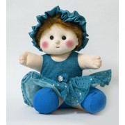 Baby Doll Girl Chamki Blue Color by Lovely Toys