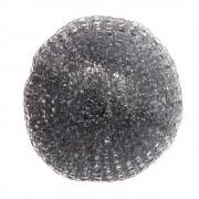 Set 12 Bureti Spiralati din Inox OTI, Ambalati Blister, 14 g, Culoare Argintie, Spalatoare Metalica pentru Vase, Burete de Vase din Inox, Bureti Metalici, Burete pentru Curatare Vase, Bureti pentru Vase, Spalator din Inox, Spalator Metalic