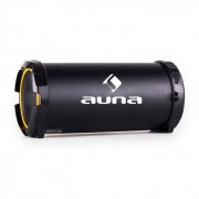 Auna Dr. Beat 2.1 Bluetooth-Lautsprecher USB SD AUX UKW Akku gelb