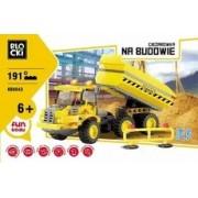 Icom Klocki Blocki Na budowie Ciężarówka 191 elementów