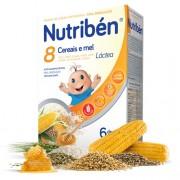 Nutribén 8 Cereais e Mel Láctea 300gr