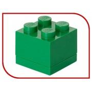 Lego Пластиковый мини-кубик для хранения деталей Lego 4 Green 40111734