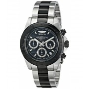 Invicta Watches Invicta Men's 6934 Speedway Collection Chronograph Black and Silver Stainless Steel Watch BlackSilver