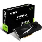 Видео карта Nvidia GeForce GTX 1070 Ti, 8GB, MSI AERO 8G, PCI-E 3.0, GDDR5, 256b-bit, Display Port, HDMI, DVI