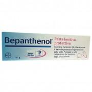 Bepanthenol pasta lenitiva protettiva 100 g trattamento degli arrossamenti e delle irritazioni da pannolino bb farma